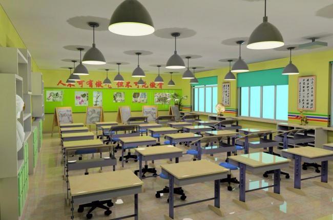 地理教室布置设计图片